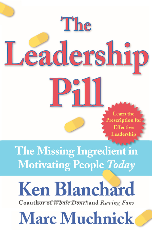 The leadership pill cover